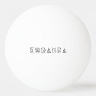 Bola de Pong do sibilo da estrela de EXOAURA 3