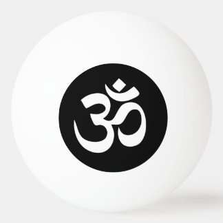 Bola de Pong do sibilo do círculo do símbolo do OM