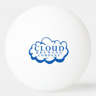 Bola de Pong do sibilo do logotipo de Nuvem