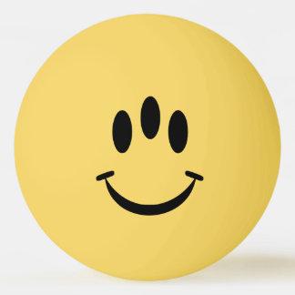 Bola de Pong do sibilo do smiley da evolução