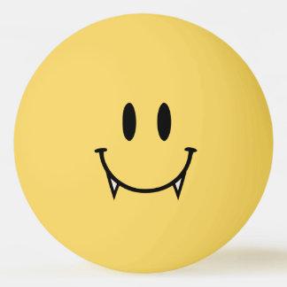 Bola de Pong do sibilo do smiley do vampiro