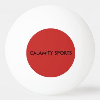 Bola de Pong do sibilo dos esportes da calamidade