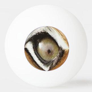 Bola de Pong do sibilo - o olho do tigre