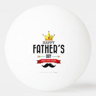Bola de Pong do sibilo que deseja o dia dos pais