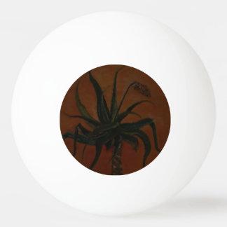 Bola de ténis de mesa do aloés