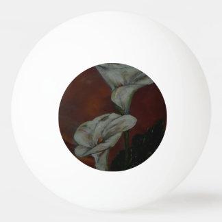Bola de ténis de mesa dos lírios de Arum 2