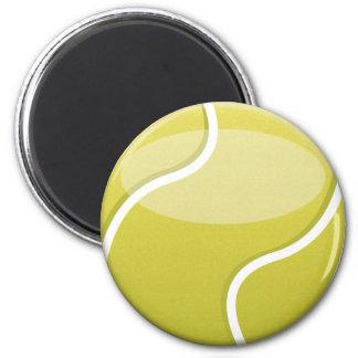 Bola de tênis ímã redondo 5.08cm