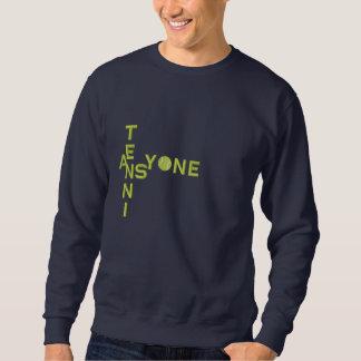 Bola de tênis suéter bordado