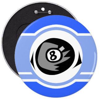 Bola do azul 8 botons