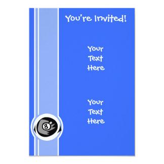 Bola do azul 8 convites