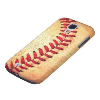 Bola do basebol do vintage galaxy s4 covers