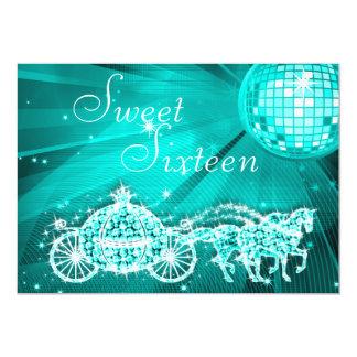 Bola do disco da cerceta, princesa Treinamento & Convite 12.7 X 17.78cm