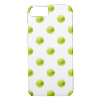 Bola do fundo das bolas de tênis do verde limão capa iPhone 7