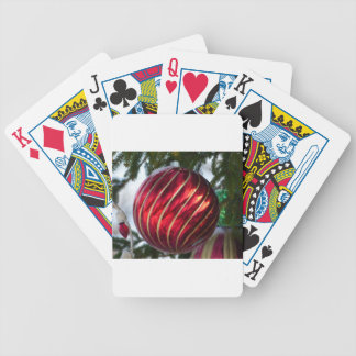 bola do Natal Baralho Para Pôquer