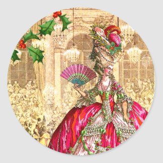 Bola do Natal de Marie Antoinette Adesivo