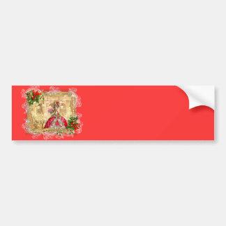 Bola do Natal de Marie Antoinette Adesivo Para Carro