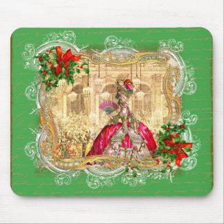 Bola do Natal de Marie Antoinette Mouse Pad
