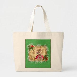 Bola do Natal de Marie Antoinette Sacola Tote Jumbo