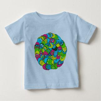 Bola do tonto camiseta para bebê