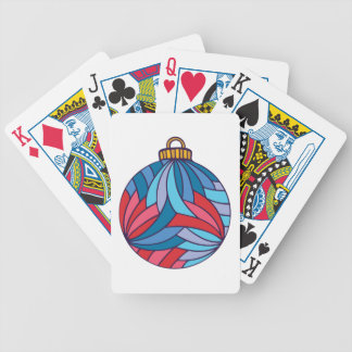 Bola do Xmas Baralho Para Poker