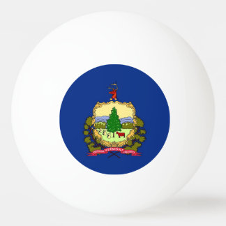 Bola especial do pong do sibilo com a bandeira de