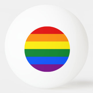 Bola especial do pong do sibilo com a bandeira do