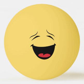 Bola feliz de Pong do sibilo do smiley