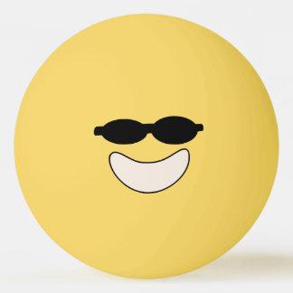 Bola legal de Pong do sibilo do smiley