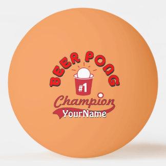 Bola oficial da liga de Pong do sibilo feito sob