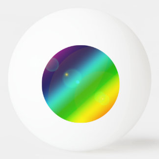 Bola Para Ping Pong Arco-íris borbulhante
