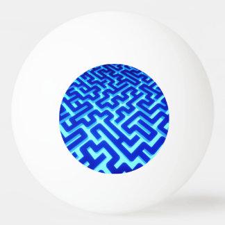 Bola Para Ping-pong Azul do labirinto