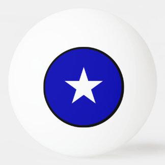 Bola Para Ping Pong Bandeira azul Bonnie