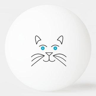 Bola Para Ping-pong Cara do gato