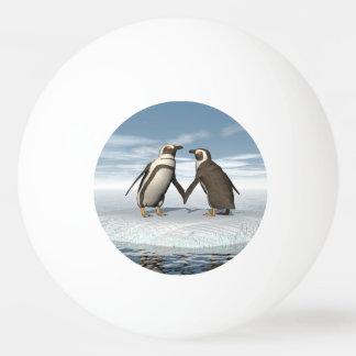 Bola Para Ping-pong Casal dos pinguins