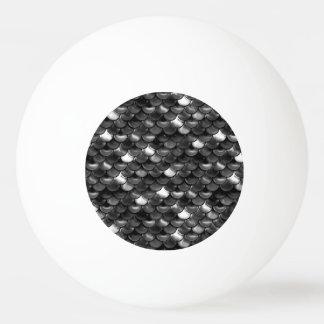 Bola Para Ping-pong Escalas preto e branco de Falln