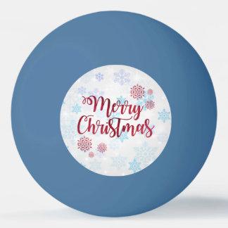 Bola Para Ping-pong Feliz Natal 2