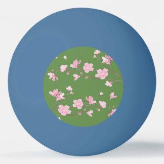 Bola Para Ping Pong Flor de cerejeira - fundo transparente