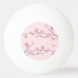 Bola Para Ping-pong Flor de cerejeira - rosa