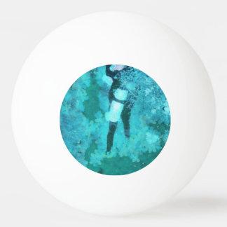 Bola Para Ping Pong Mergulhador e bolhas de mergulhador