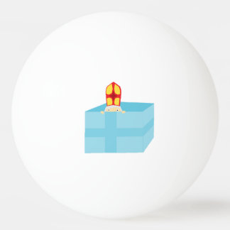 Bola Para Ping-pong O Dutch bonito engraçado Sinterklaas de São