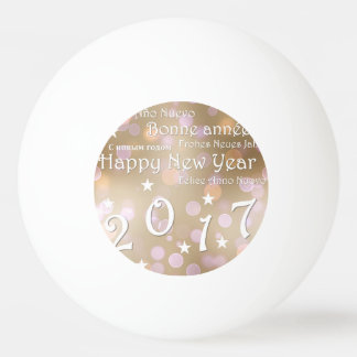 Bola Para Ping-pong O feliz ano novo 2017