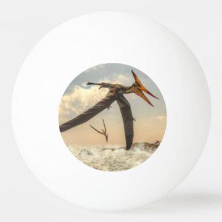 Bola Para Ping-pong Pássaros de Pteranodon - 3D rendem