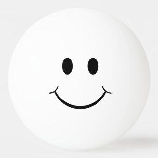 Bola Para Ping-pong Smiley face liso engraçado
