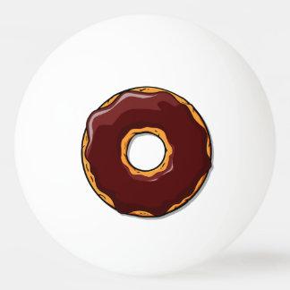 Bola Para Tênis De Mesa 1 design da rosquinha do chocolate dos desenhos