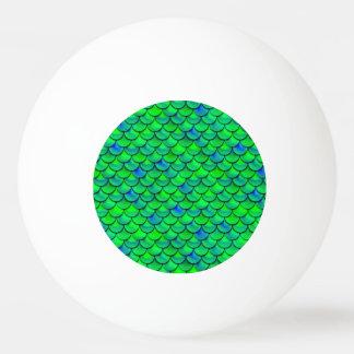 Bola Para Tênis De Mesa Escalas verdes do azul de Falln