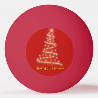 Bola Para Tênis De Mesa Feliz Natal