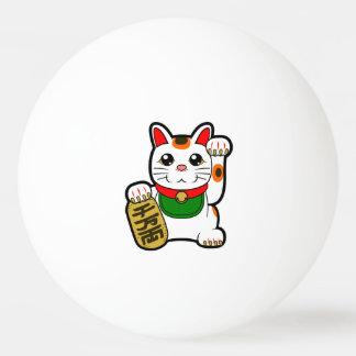 Bola Para Tênis De Mesa Maneki Neko: Gato afortunado japonês
