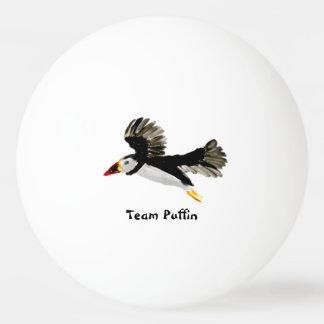 Bola Para Tênis De Mesa Papagaio-do-mar do vôo da arte do pássaro