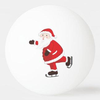 Bola Para Tênis De Mesa Papai Noel em skates de gelo