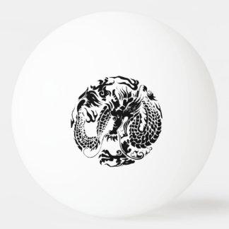 Bola preta de Pong do sibilo do dragão